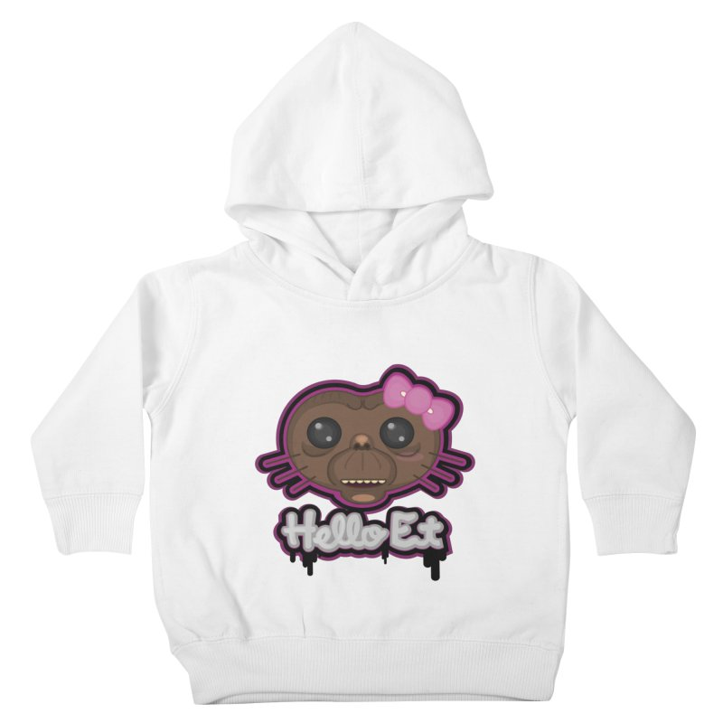 Hello E.T. Kids Toddler Pullover Hoody by moyart's Artist Shop