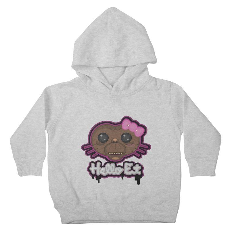 Hello E.T. Kids Toddler Pullover Hoody by moyart's Artist Shop