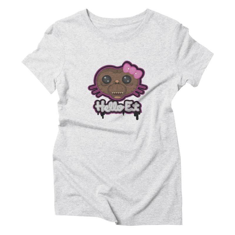 Hello E.T. Women's T-Shirt by moyart's Artist Shop