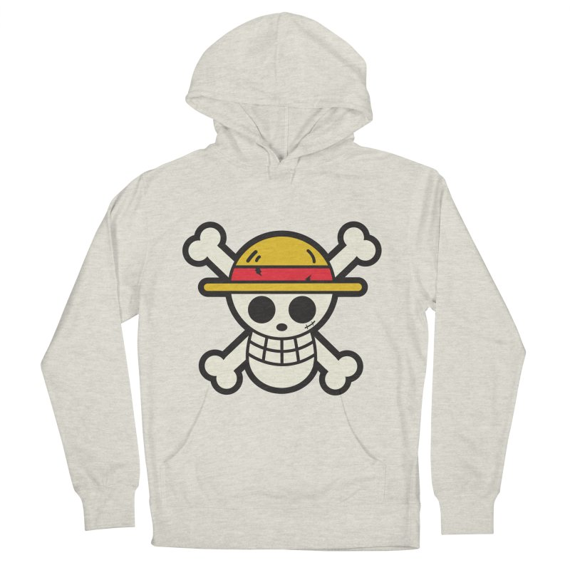 Strawhat Crew Women's French Terry Pullover Hoody by moyart's Artist Shop