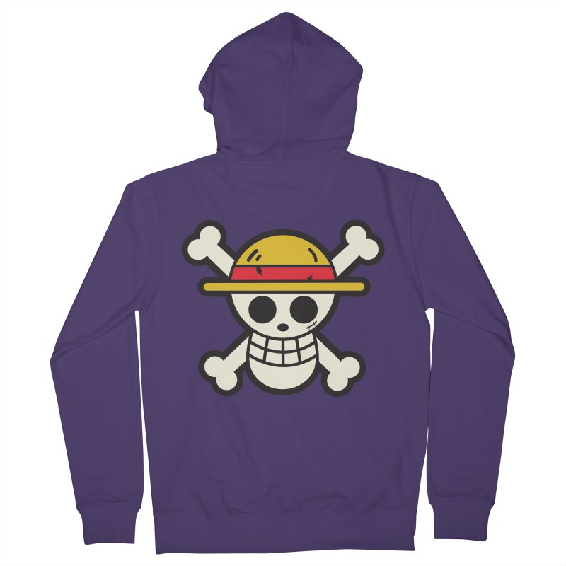 Strawhat Crew Women's French Terry Zip-Up Hoody by moyart's Artist Shop