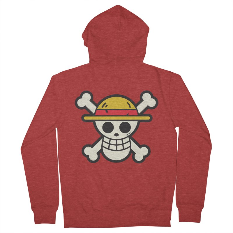 Strawhat Crew Men's Zip-Up Hoody by moyart's Artist Shop
