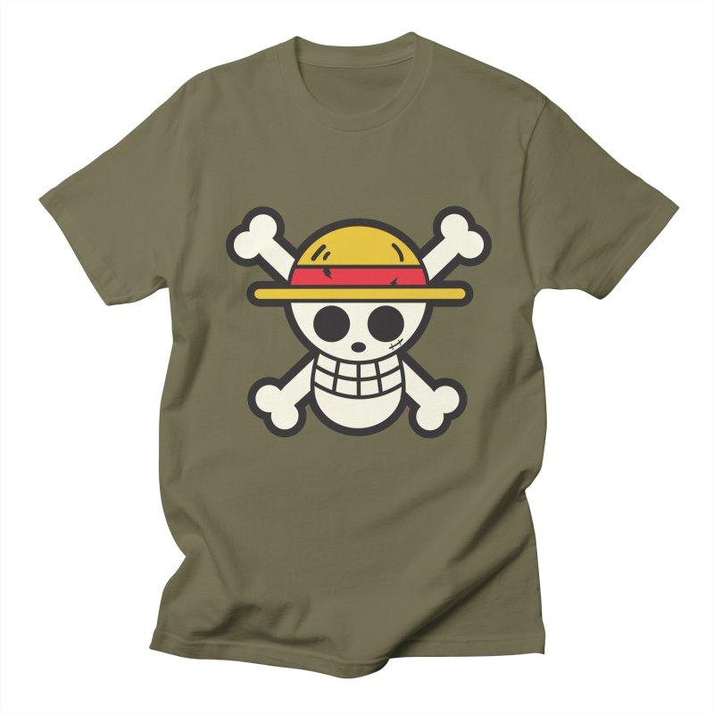 Strawhat Crew Men's T-shirt by moyart's Artist Shop
