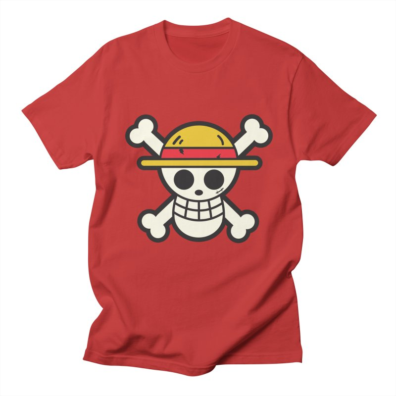 Strawhat Crew Men's Regular T-Shirt by moyart's Artist Shop