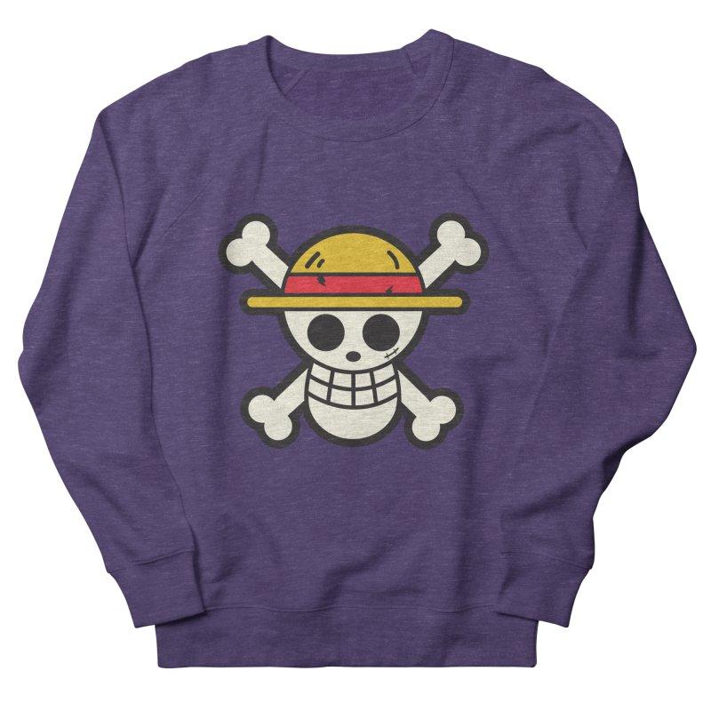 Strawhat Crew Women's French Terry Sweatshirt by moyart's Artist Shop