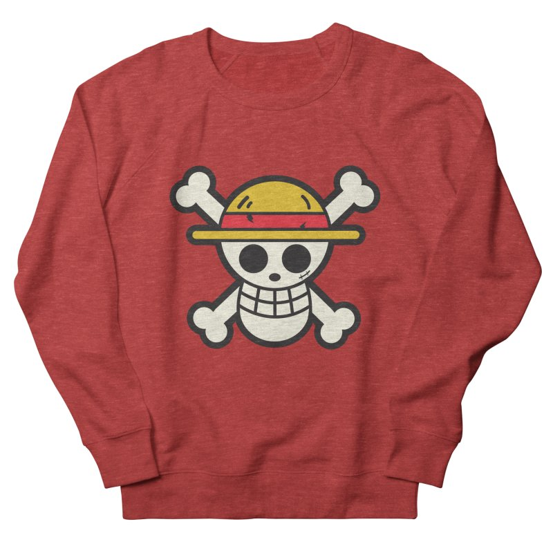 Strawhat Crew Men's French Terry Sweatshirt by moyart's Artist Shop