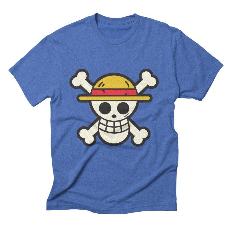 Strawhat Crew Men's Triblend T-Shirt by moyart's Artist Shop