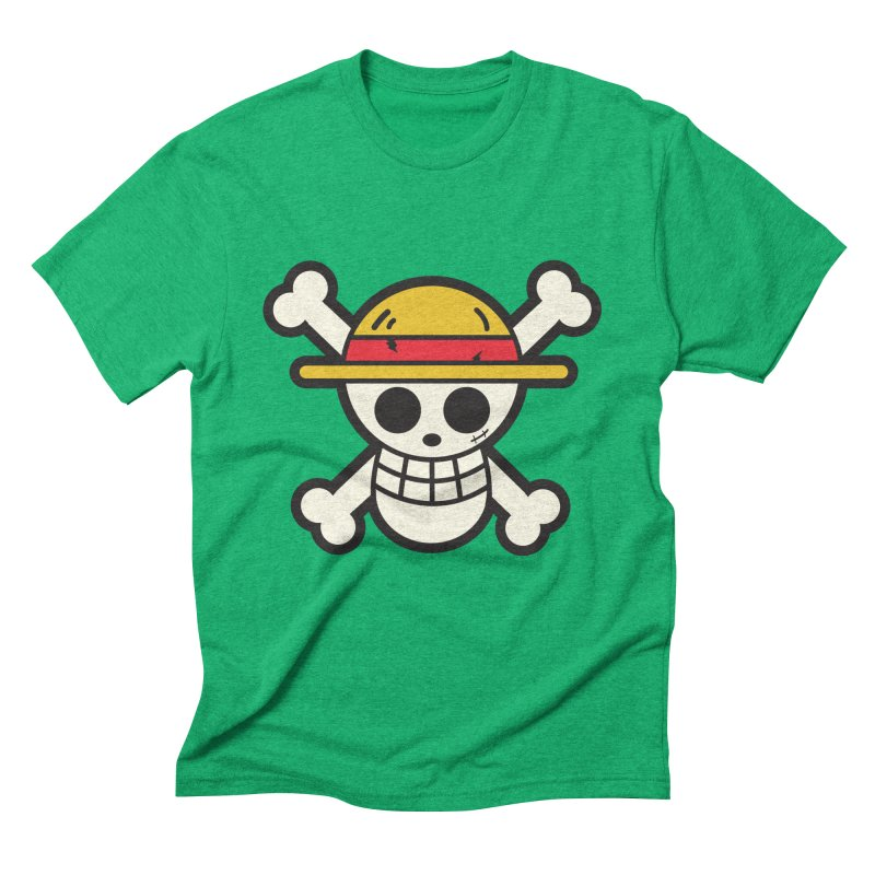Strawhat Crew Men's Triblend T-Shirt by moyart's Artist Shop