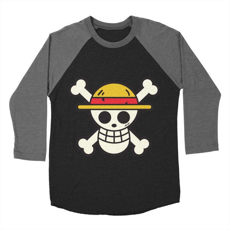 Strawhat Crew Women's Baseball Triblend Longsleeve T-Shirt by moyart's Artist Shop