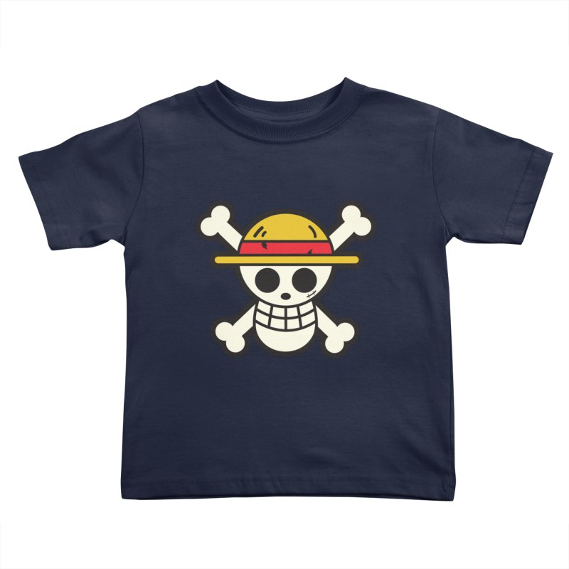 Strawhat Crew Kids Toddler T-Shirt by moyart's Artist Shop