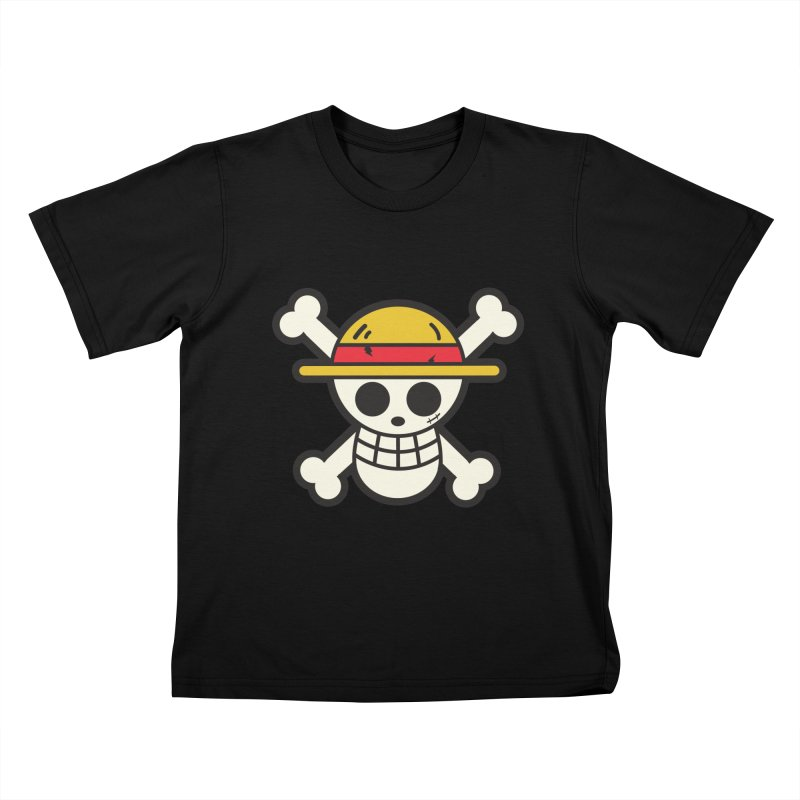 Strawhat Crew Kids T-Shirt by moyart's Artist Shop