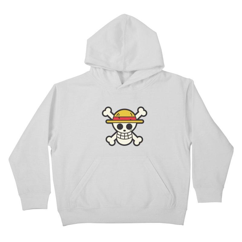 Strawhat Crew Kids Pullover Hoody by moyart's Artist Shop