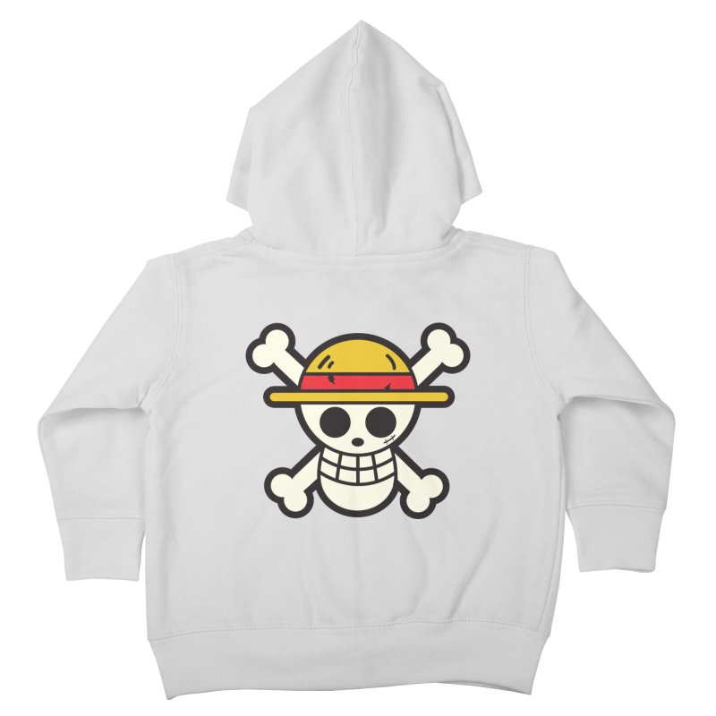 Strawhat Crew Kids Toddler Zip-Up Hoody by moyart's Artist Shop