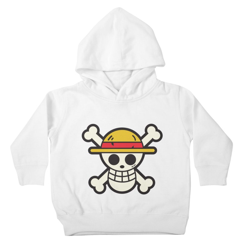 Strawhat Crew Kids Toddler Pullover Hoody by moyart's Artist Shop