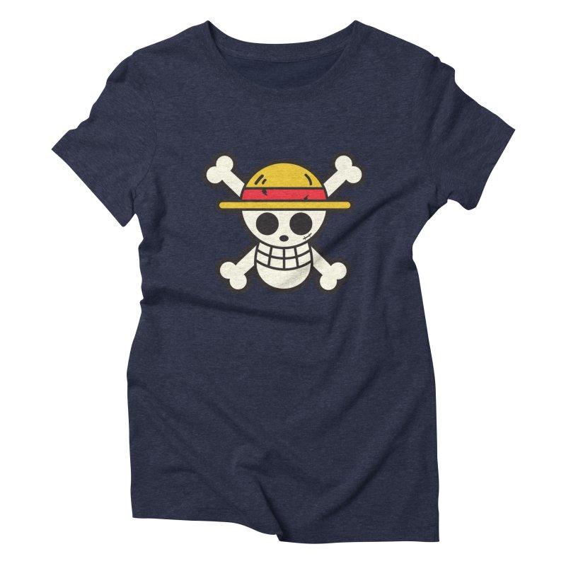 Strawhat Crew Women's Triblend T-Shirt by moyart's Artist Shop
