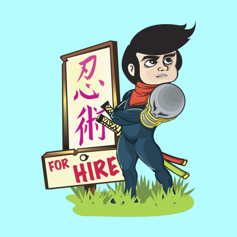 Ninja For Hire by moyart's Artist Shop