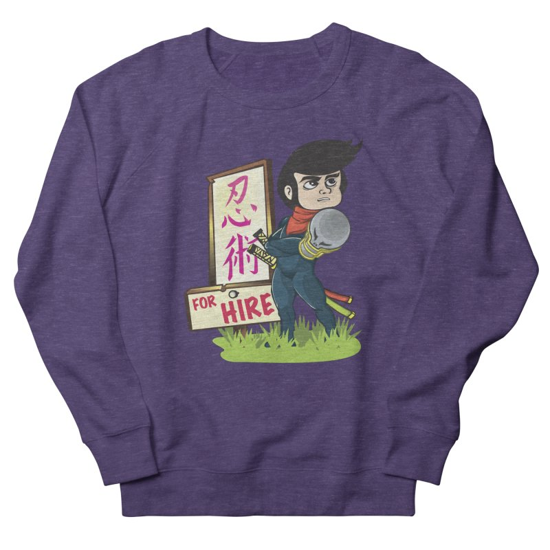 Ninja For Hire Women's Sweatshirt by moyart's Artist Shop