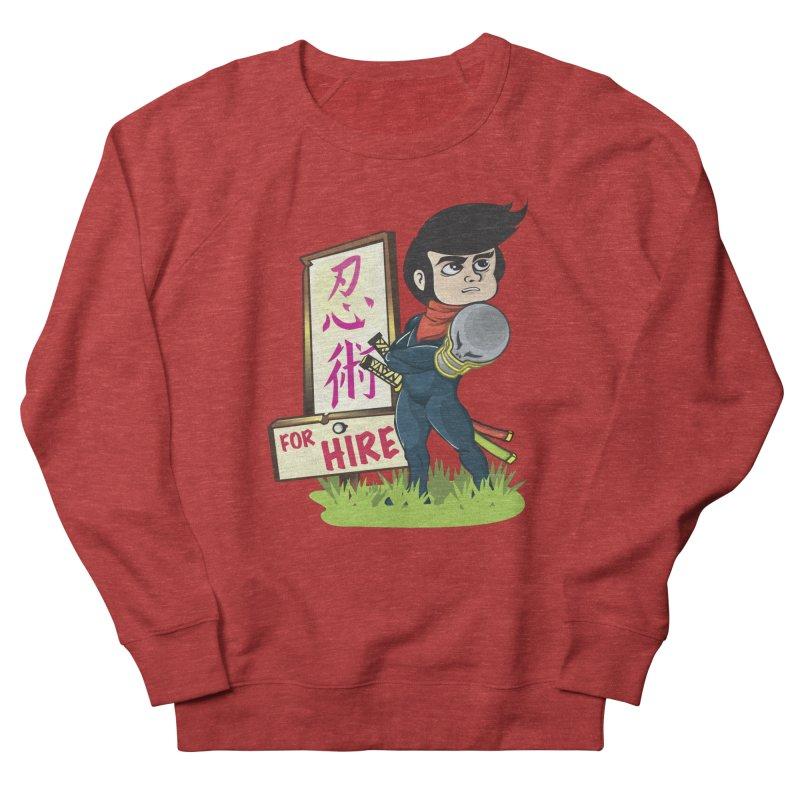 Ninja For Hire Women's Sweatshirt by moyart's Artist Shop