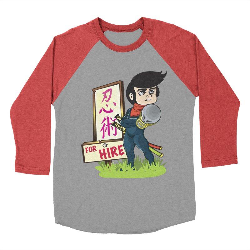 Ninja For Hire Men's Longsleeve T-Shirt by moyart's Artist Shop