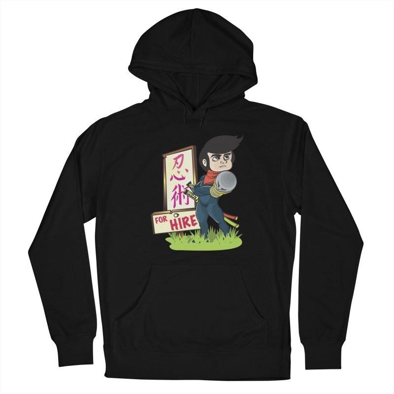 Ninja For Hire Women's Pullover Hoody by moyart's Artist Shop