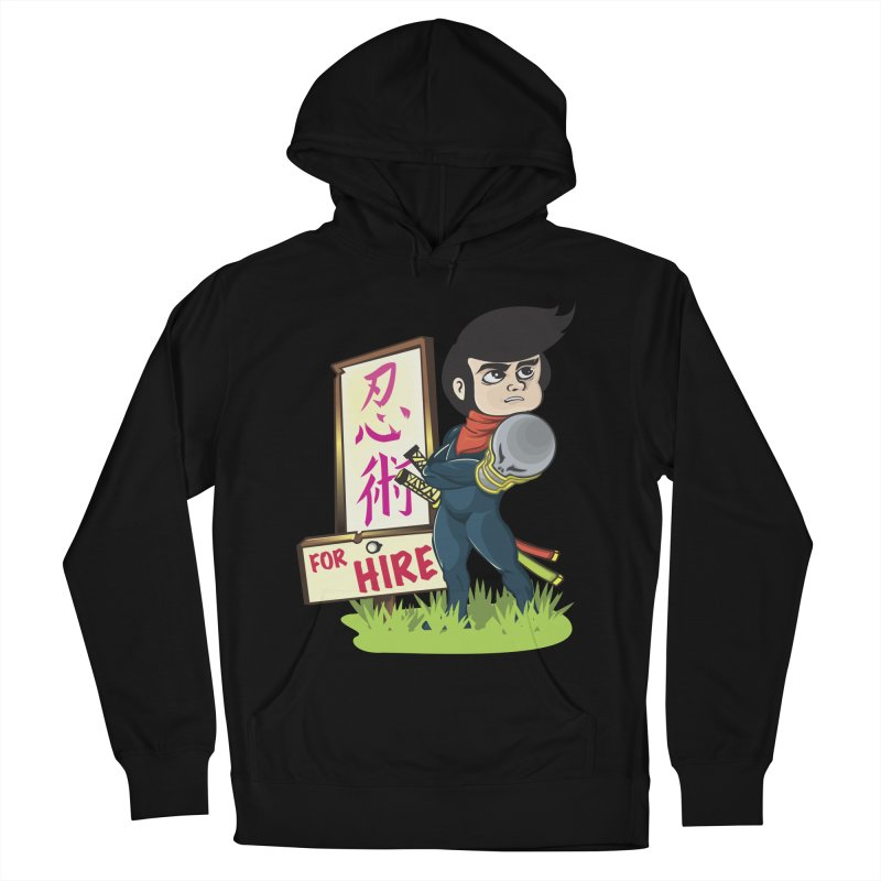 Ninja For Hire Men's Pullover Hoody by moyart's Artist Shop