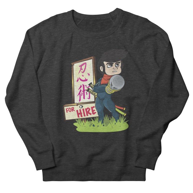 Ninja For Hire Men's Sweatshirt by moyart's Artist Shop