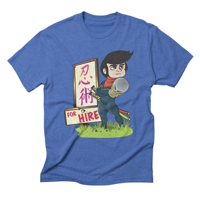 Ninja For Hire Men's Triblend T-shirt by moyart's Artist Shop