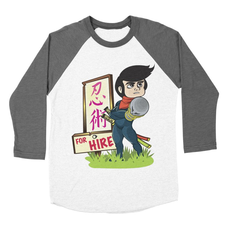 Ninja For Hire Women's Longsleeve T-Shirt by moyart's Artist Shop