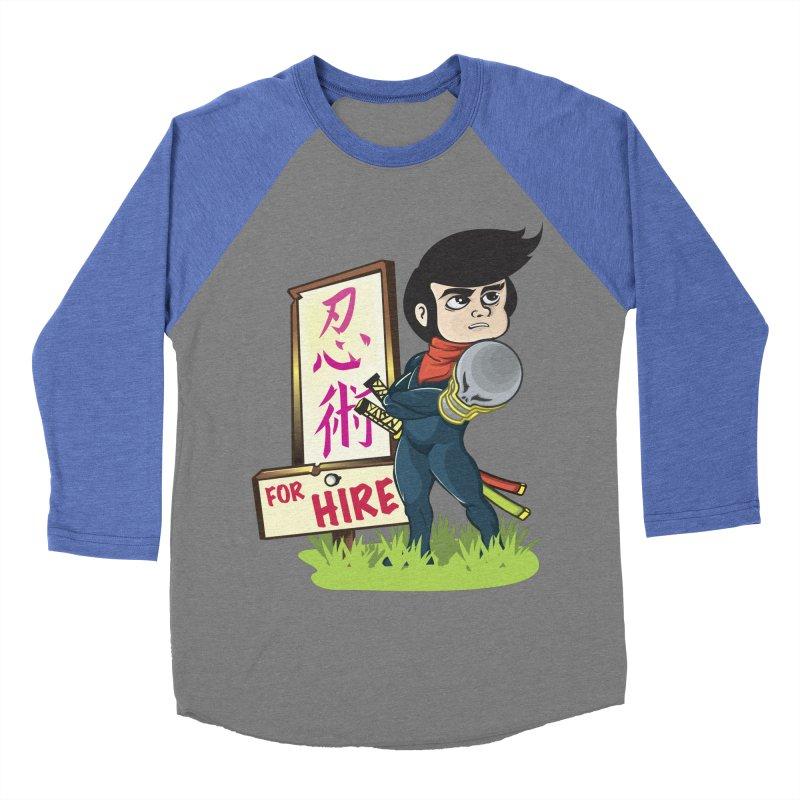 Ninja For Hire Women's Longsleeve T-Shirt by moyart's Artist Shop