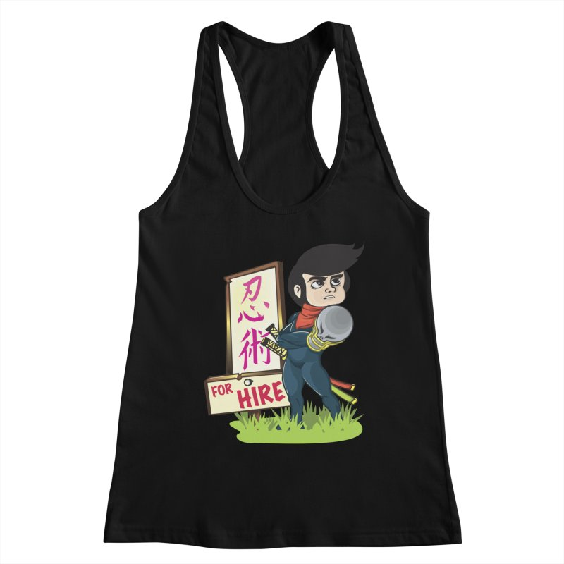 Ninja For Hire Women's Tank by moyart's Artist Shop