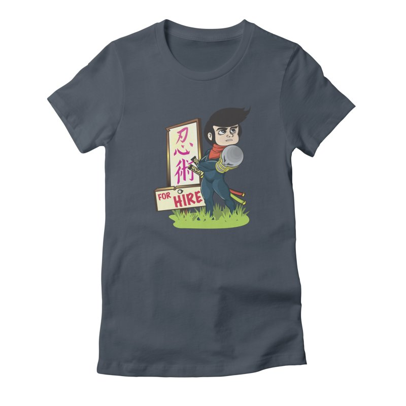Ninja For Hire Women's T-Shirt by moyart's Artist Shop