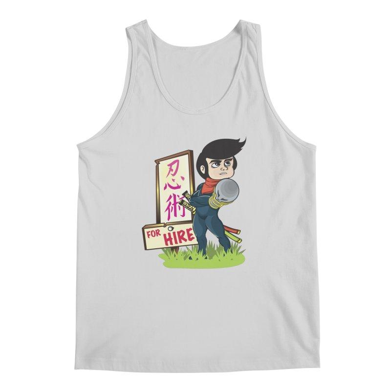 Ninja For Hire Men's Regular Tank by moyart's Artist Shop