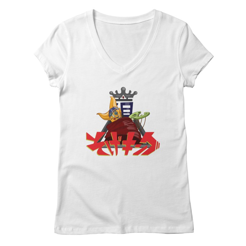Sogeking Women's V-Neck by moyart's Artist Shop