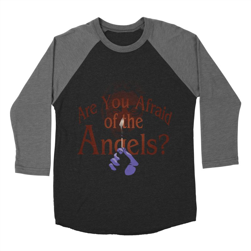 Are You Afraid of the Angels? Men's Baseball Triblend T-Shirt by Moysche's Shop