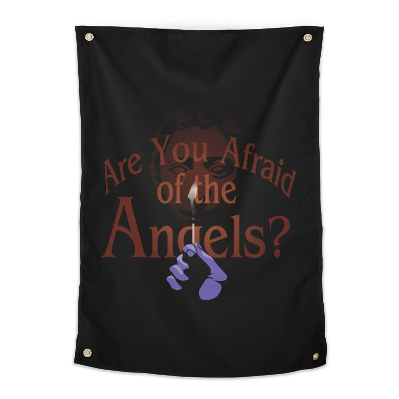 Are You Afraid of the Angels? Home Tapestry by Moysche's Shop
