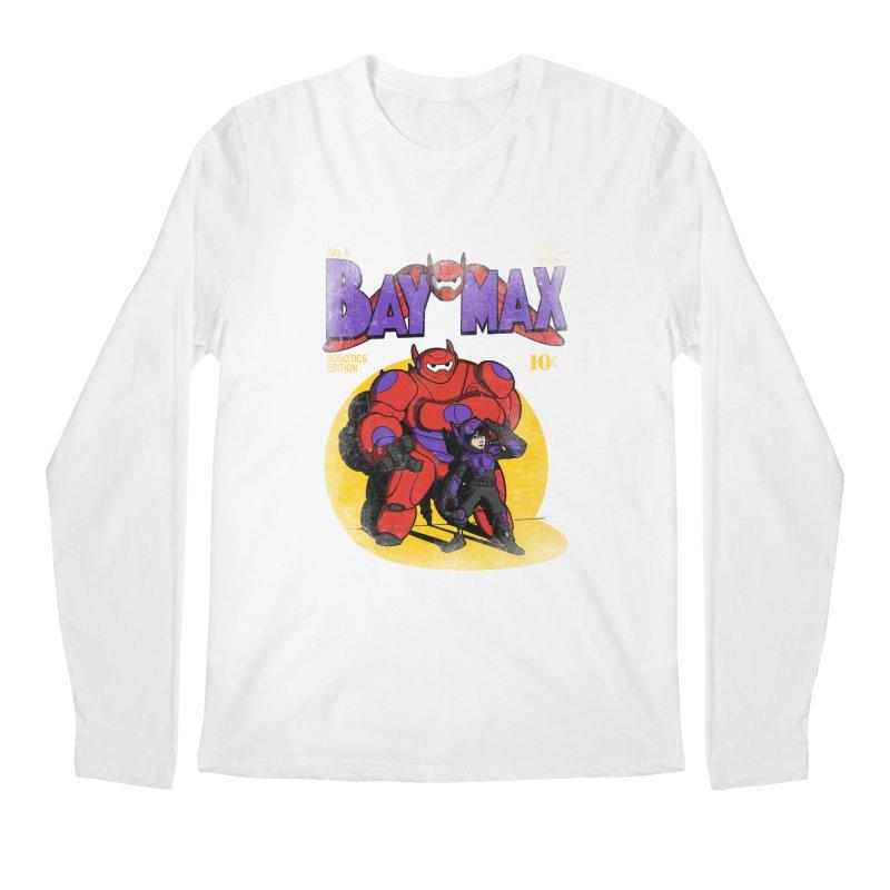 Baymax No. 6 Men's Longsleeve T-Shirt by Moysche's Shop