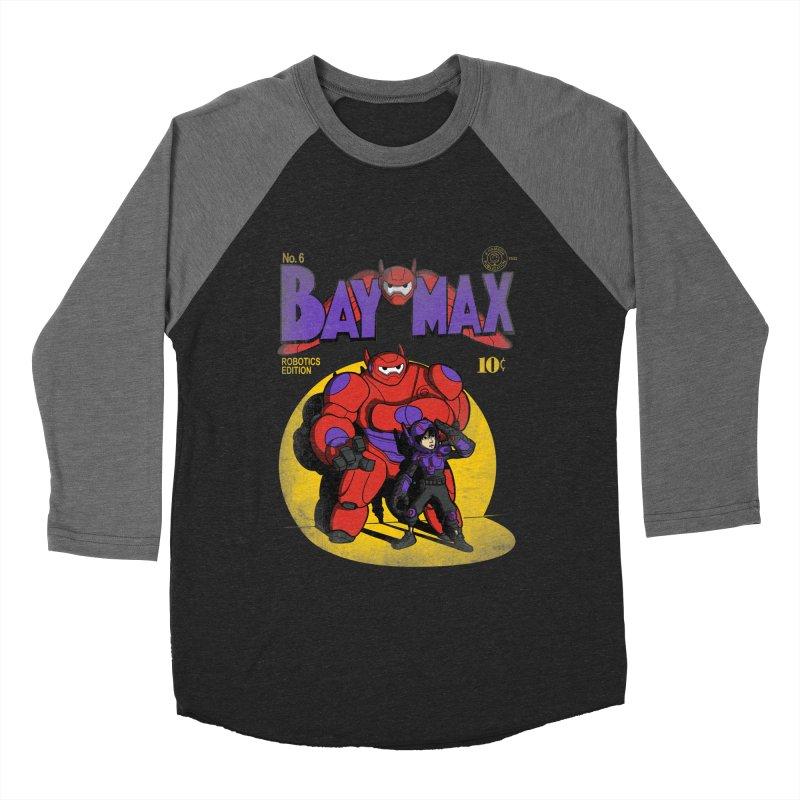 Baymax No. 6 Women's Baseball Triblend T-Shirt by Moysche's Shop