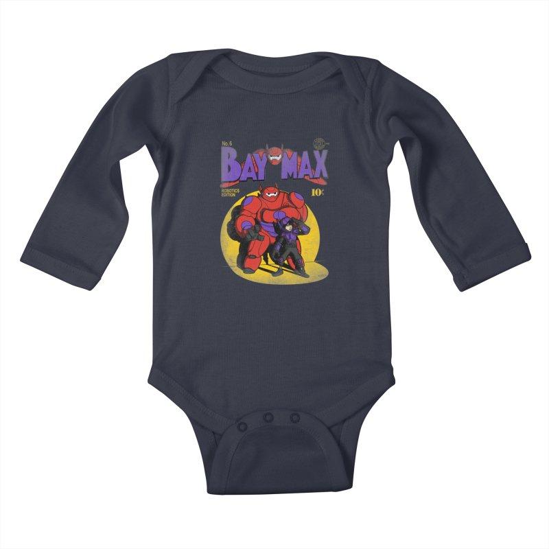 Baymax No. 6 Kids Baby Longsleeve Bodysuit by Moysche's Shop
