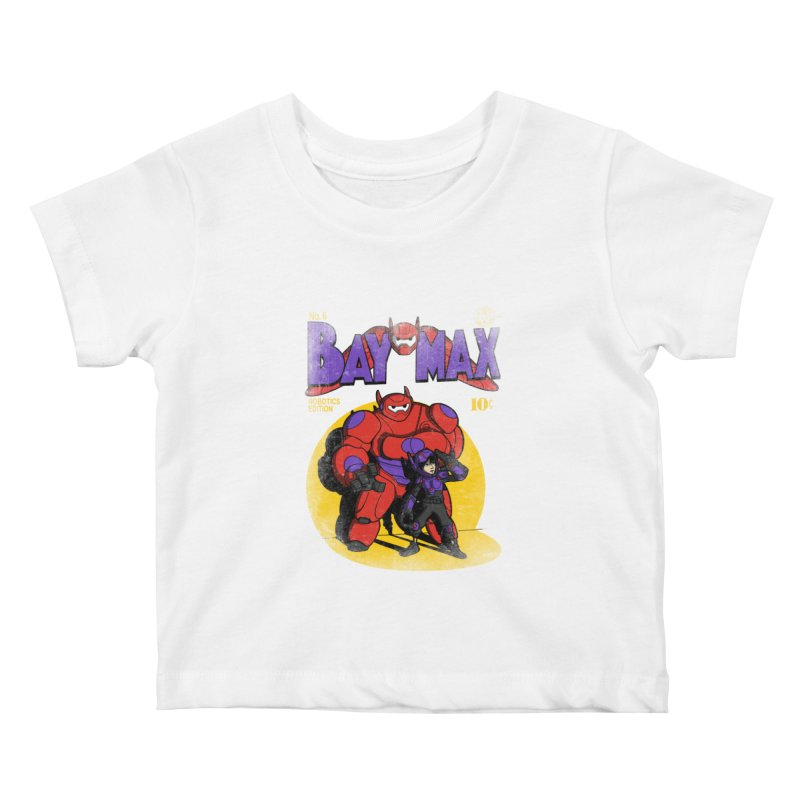 Baymax No. 6 Kids Baby T-Shirt by Moysche's Shop
