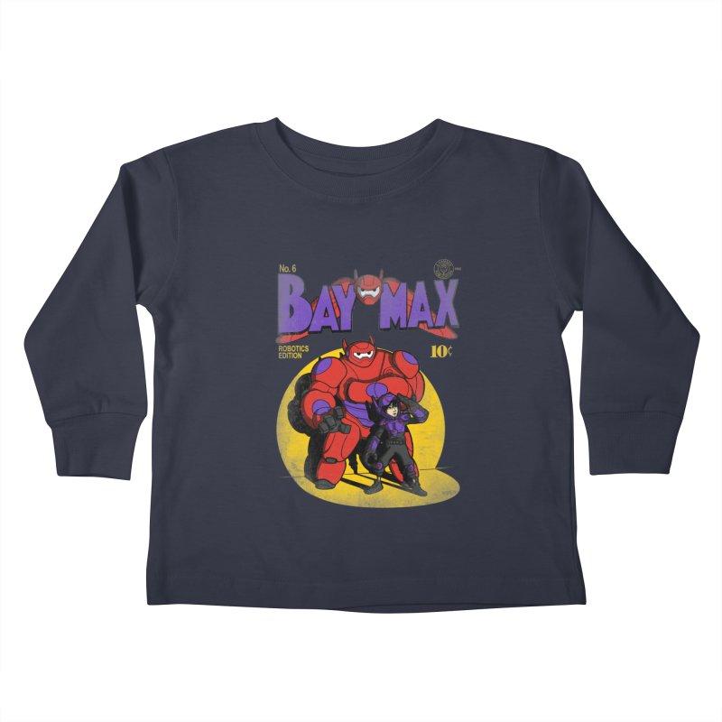 Baymax No. 6 Kids Toddler Longsleeve T-Shirt by Moysche's Shop