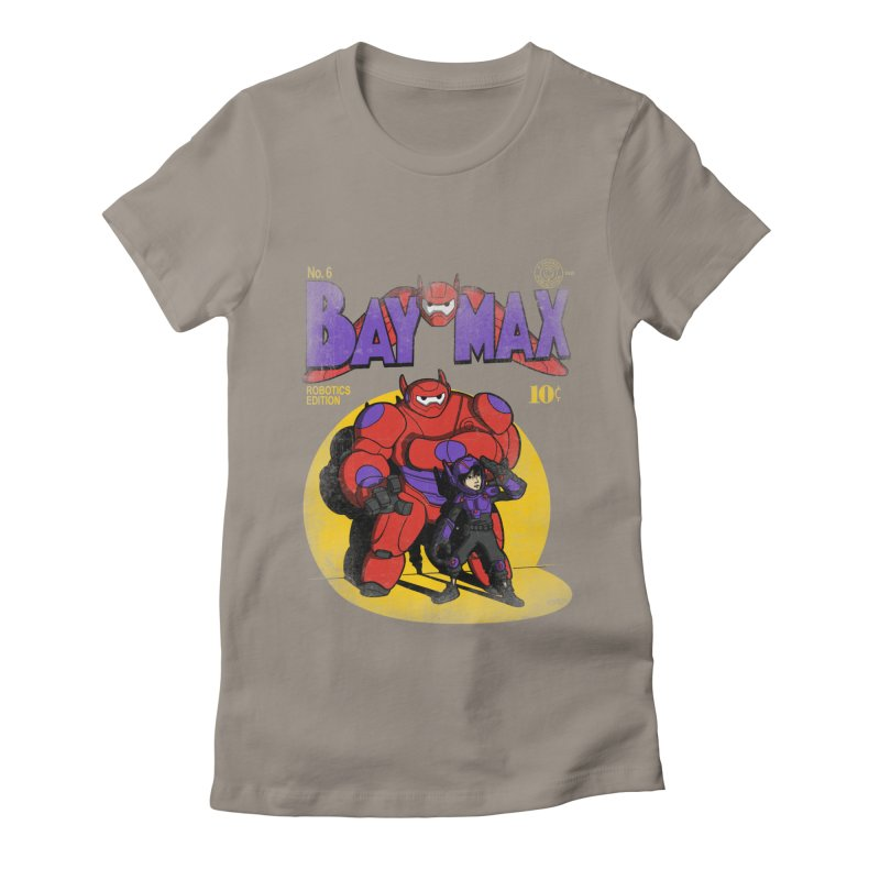 Baymax No. 6 Women's Fitted T-Shirt by Moysche's Shop