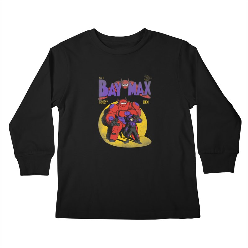 Baymax No. 6 Kids Longsleeve T-Shirt by Moysche's Shop