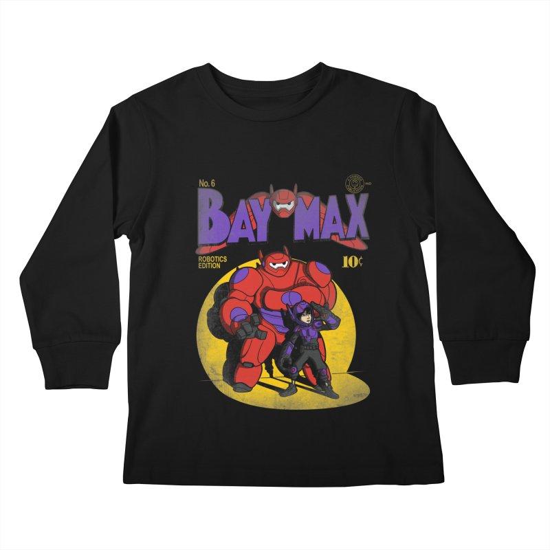 Baymax No. 6 Kids Longsleeve T-Shirt by Moysche's Shop