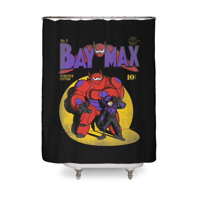 Baymax No. 6 Home Shower Curtain by Moysche's Shop