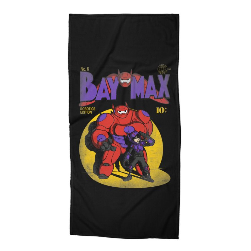 Baymax No. 6 Accessories Beach Towel by Moysche's Shop