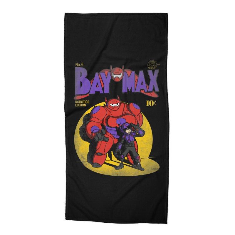 Baymax No. 6 Accessories Beach Towel by Moysche's Shop