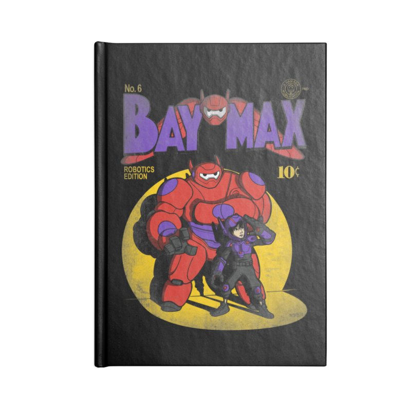 Baymax No. 6 Accessories Notebook by Moysche's Shop