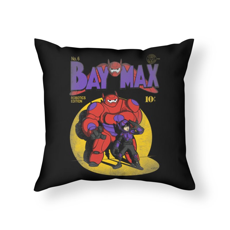 Baymax No. 6 Home Throw Pillow by Moysche's Shop