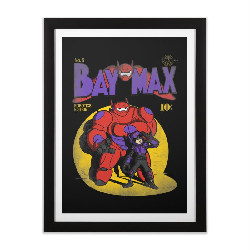 Baymax No. 6 Home Framed Fine Art Print by Moysche's Shop