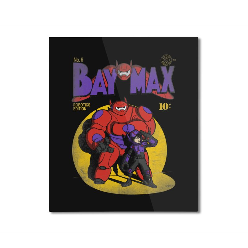 Baymax No. 6 Home Mounted Aluminum Print by Moysche's Shop